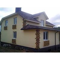 Утепление фасада здания (дома) пенопластом
