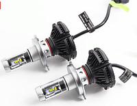 Лампа LED X3-H4, Светодиодные лампы в противотуманных фарах или фарах головного света, Лампы автомобильные!