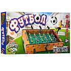 Настольная игра Футбол на штангах LIMO TOY 2035N деревянный 2 мяча шкала ведения счета, фото 3