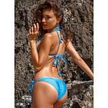 Купальник  женский раздельный бикини   Jolidon CF4U яркий, голубой размер XS, S, M, фото 3