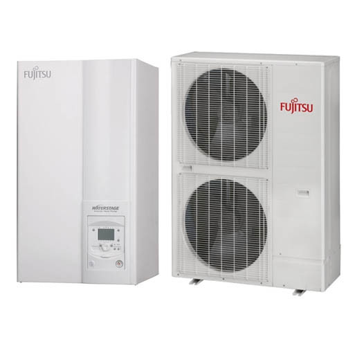 Трифазний тепловий насос Fujitsu WSYK160DC9/WOYK140LCT (14 кВт)