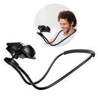 Гибкий держатель для телефона на шею Lazy Holder Waist крепление для путешествий! Лучшая цена