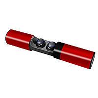 Наушники S2, Беспроводные Bluetooth наушники, Наушники гарнитура в кейсе Power bank, Беспроводные наушники! Лучшая цена