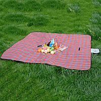 Подстилка для пикника, Покрывало коврик для пикника, Водонепроницаемый плед на природу, Непромокаемый коврик! Лучшая цена