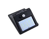 Фонарик 609-20smd, Светодиодный уличный фонарь,Светильник с солнечной зарядкой, Светильник с датчиком движения! Лучшая цена