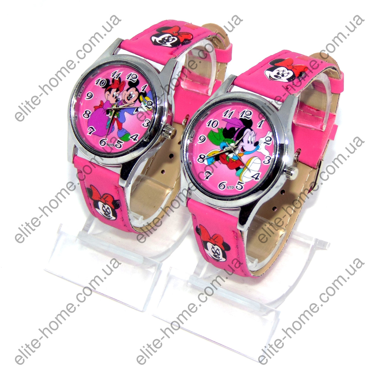 """Дитячі наручні годинники """"Мінні Маус (Minnie Mouse)"""" в подарунковій упаковці"""