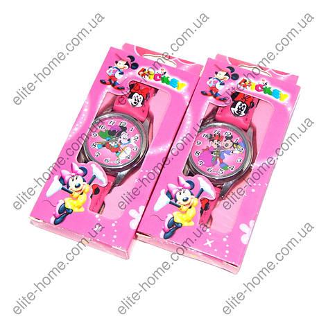 """Дитячі наручні годинники """"Мінні Маус (Minnie Mouse)"""" в подарунковій упаковці, фото 2"""