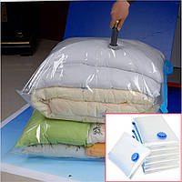Вакуумный Пакет VACUUM BAG 80*120 \ A0041, Пакет для хранения одежды, Мешок с клапаном для вещей! Лучшая цена
