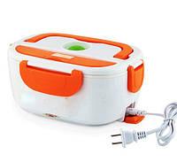 Lunch heater box 220v Home, Электрический ланч-бокс,Термос пищевой для еды на два отделения, Контейнер для еды! Лучшая цена