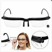 Универсальные очки для зрения Dial Vision с регулировкой линз от -6 до +3! Лучшая цена