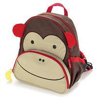 Рюкзак детский Skip Hop Zoo обезьянка + ланч бокс.