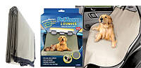 Автомобильная водонепроницаемая накидка для собак PetZoom Loungee в машину на заднее сидение (Петзум)! Лучшая цена
