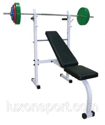 Скамья атлетическая для жима лежа Luxon Sport