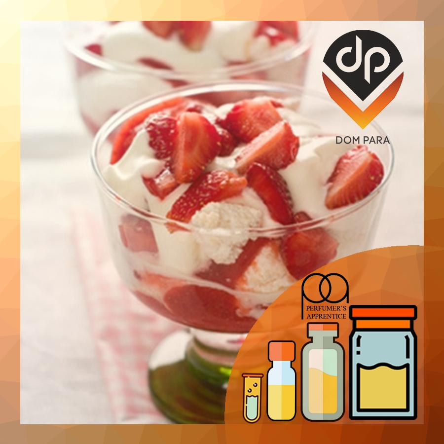 Ароматизатор TPA\TFA Strawberries and Cream  Клубника с кремом