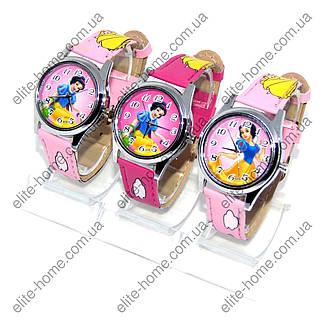 """Детские наручные часы """"Белоснежка"""" в подарочной упаковке (малиновый, розовый ремешок, 2 вида), фото 2"""