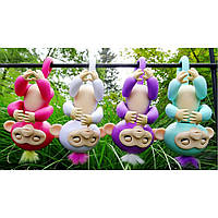 Интерактивная Ручная Обезьянка Fingerlings Monkey, Новинка Ручная Обезьяна Baby Monkey! Лучшая цена