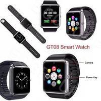 Наручные часы Smart Watch GT08 умные часы Android Смарт часы apple Bluetooth! Лучшая цена