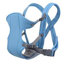 Слинг-рюкзак (носитель) для ребенка Babby Carriers Голубой! Лучшая цена