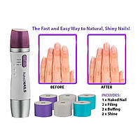 Прибор для полировки и шлифовки ногтей Naked Nails, Аппарат для маникюра и педикюра Naked Nails! Топ продаж