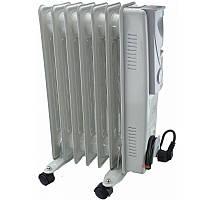 Обогреватель масляный Crownberg CB-7-S 1500W Радиатор электрический на 7 Секций! Лучшая цена