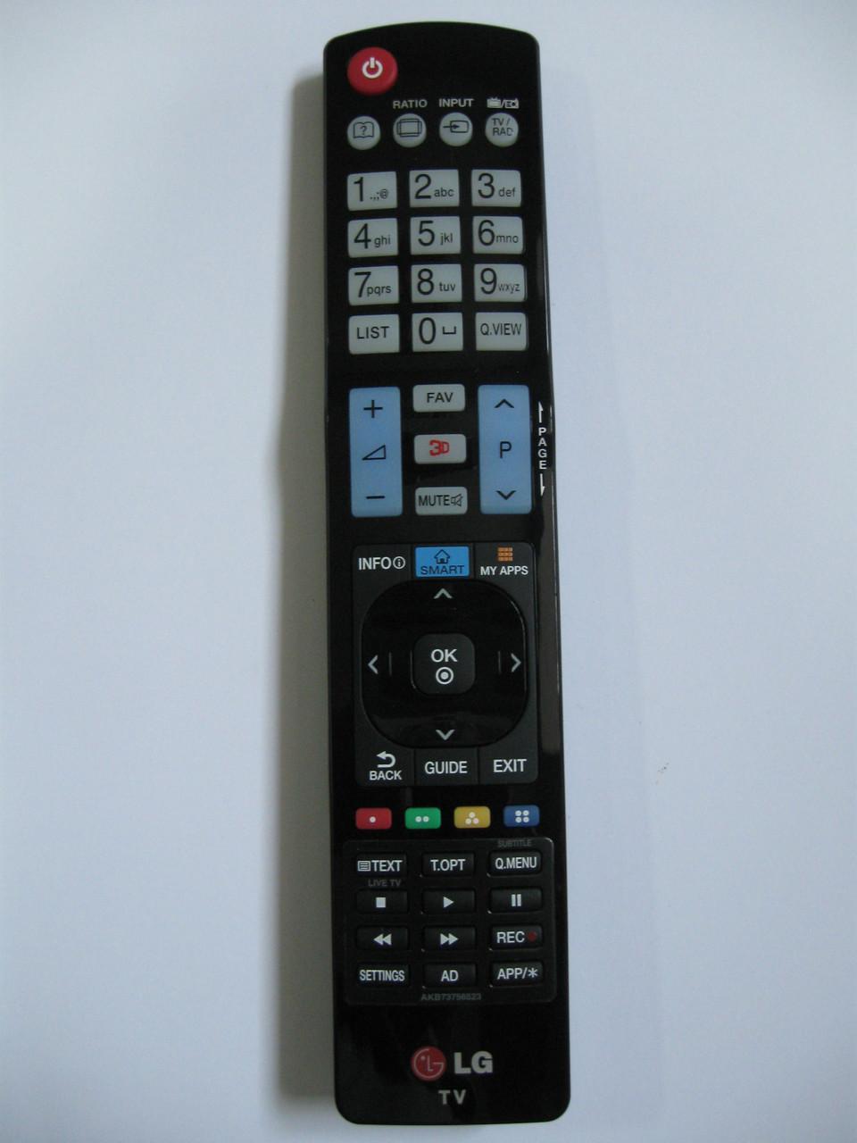 Пульт управления для телевизора LG AKB73756523