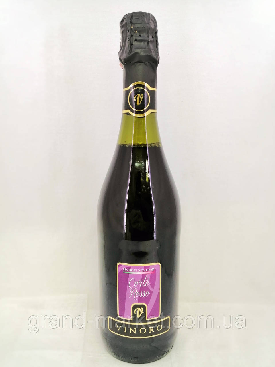 Вино ігристе червоне Vinoro Corte Rosso 0.75 л