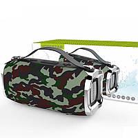 Беспроводная портативная влагозащищенная стерео колонка Hopestar H36 Mini Супер Басы камуфляж! Лучшая цена