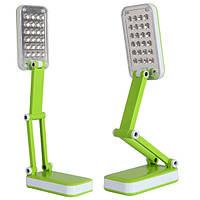 Светодиодная настольная лампа LED-666 TopWell зеленая! лучший