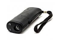 Ультразвуковой отпугиватель собак c фонарем AD-100 black! Лучшая цена
