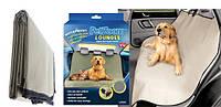 Автомобильная водонепроницаемая накидка для собак PetZoom Loungee в машину на заднее сидение (Петзум)! Хит продаж