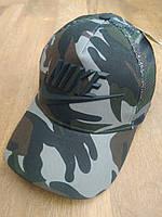 Кепка бейсболка хаки камуфляжный унисекс NIKE(реплика), фото 1
