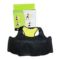 Топ для похудения HOT SHAPER VEST неопреновый топик для похудения одежда для похудения ХОТ ШЕЙПЕРС! Хит продаж