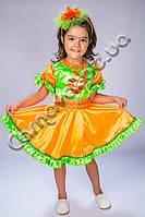 Карнавальный костюм Рябина для девочки, фото 1