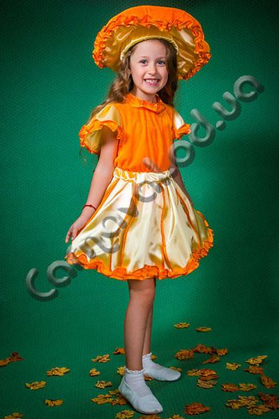 Карнавальный костюм Гриб Лисичка для девочки, цена 410 грн ... - photo#8
