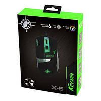 Проводная геймерская игровая мышка Keywin X-5 с подсветкой | компьютерная мышка! Хит продаж