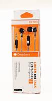 Наушники проводные вакуумные DeepBass EX500   проводная гарнитура   наушники вкладыши! Хит продаж