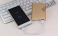Аккумулятор зарядное Power Bank 10000 Xiaomi Gold! Хит продаж