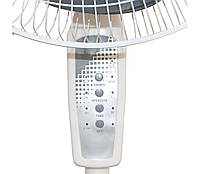 """Напольный вентилятор Changli Crown FS-1608 с таймером и пультом 44 см stand fan 17"""" 40W! Хит продаж"""