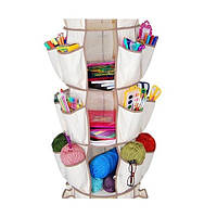 Система хранения одежды и обуви Smart Carousel Organizer на 3 ряда! Хит продаж