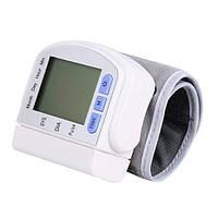 Цифровой тонометр на запястье Automatic Wrist Whatch Blood Pressure! Хит продаж