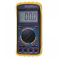 Мультиметр DT 9207, цифровой мультимер, универсальный мультиметр, Профессиональный мультиметр, тестер! Хит