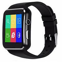 Часы Smart watch X6, Смарт-часы, Умные часы, Часы с сим картой, Часы телефон, Блютуз часы, Часы сенсорные! Хит продаж