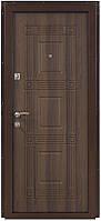 Дверь входная металлическая ПО-02 Орех белоцерковский Министерство Дверей