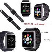 Наручные часы Smart Watch GT08 умные часы Android Смарт часы apple Bluetooth! Хит продаж