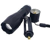 Тактический светодиодный фонарь Bailong Police BL-1844! Хит продаж