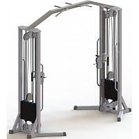 Тренажер для кінезітерапії з регульованими блоками (МТБ-3) стек 80 кг, рама 60х60 мм