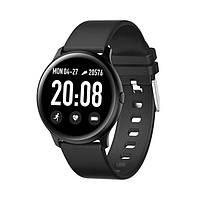 Умные часы Smart Watch KW19 / Электронные Смарт часы с сенсорным экраном цвета черные/зеленые/белые! Топ