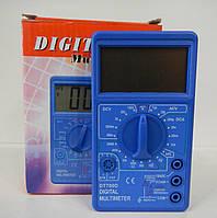 Мультиметр DT 700D, Тестер со звуком, Тестер электрический, Мультиметр цифровой, Измеритель компактный! Хит продаж