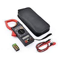 Мультиметр DT 266 F,Токоизмерительные клещи, Измеритель переменного тока, постоянного и переменного напряжения! Хит продаж