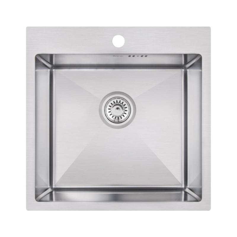 Кухонная мойка Imperial Handmade D5050 2.7/1.0 мм (IMPD5050H12)